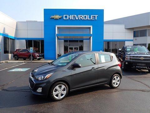 Nightfall Gray Metallic 2020 Chevrolet Spark LS