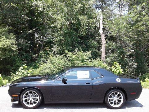 Pitch Black 2021 Dodge Challenger GT
