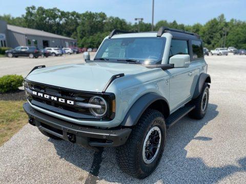 Cactus Gray 2021 Ford Bronco Big Bend 4x4 2-Door