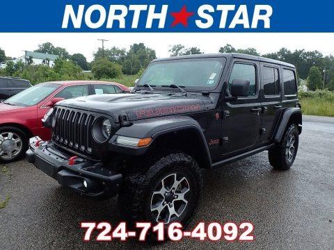 Black 2019 Jeep Wrangler Unlimited Rubicon 4x4