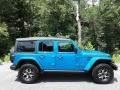 Jeep Wrangler Unlimited Rubicon 4x4 Hydro Blue Pearl photo #5