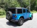Jeep Wrangler Unlimited Rubicon 4x4 Hydro Blue Pearl photo #6