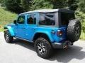 Jeep Wrangler Unlimited Rubicon 4x4 Hydro Blue Pearl photo #8