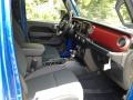 Jeep Wrangler Unlimited Rubicon 4x4 Hydro Blue Pearl photo #16