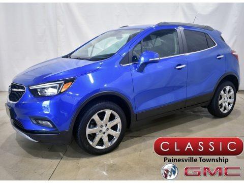 Coastal Blue Metallic 2018 Buick Encore Preferred II AWD