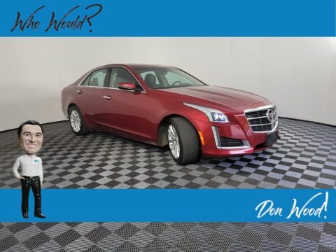 Red Obsession Tintcoat 2014 Cadillac CTS Luxury Sedan