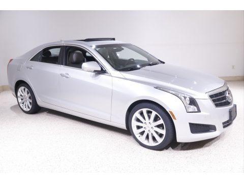 Radiant Silver Metallic 2014 Cadillac ATS 2.0L Turbo AWD