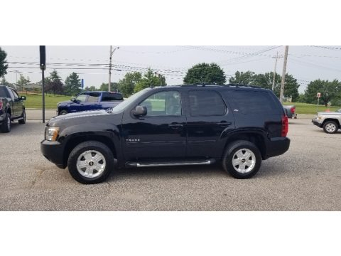 Black 2013 Chevrolet Tahoe LT 4x4
