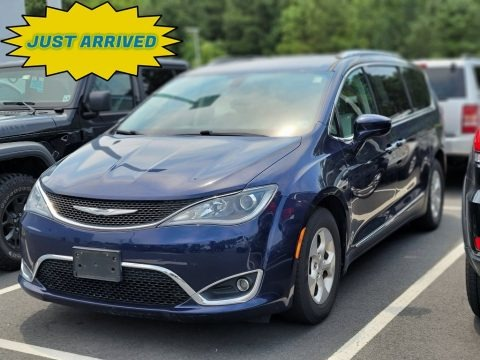Jazz Blue Pearl 2017 Chrysler Pacifica Touring L Plus