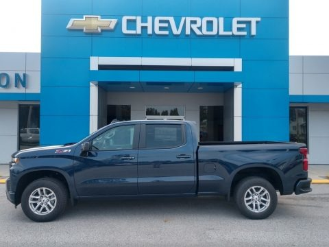 Northsky Blue Metallic 2021 Chevrolet Silverado 1500 RST Crew Cab 4x4