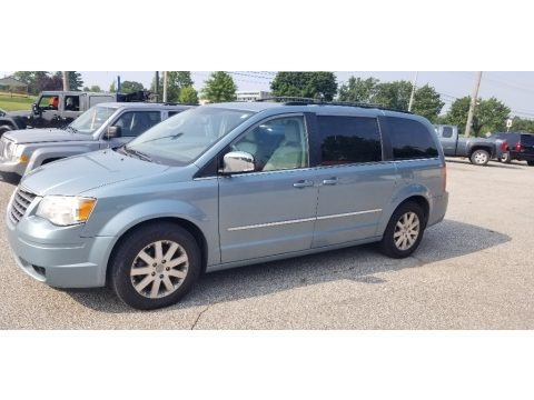 Clearwater Blue Pearl 2009 Chrysler Town & Country Touring