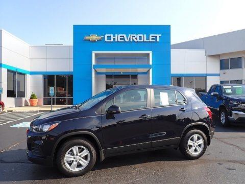 Midnight Blue Metallic 2021 Chevrolet Trax LS AWD