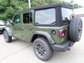 Jeep Wrangler Unlimited Sport 4x4 Sarge Green photo #3