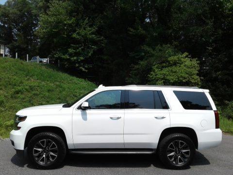 Summit White 2020 Chevrolet Tahoe LT 4WD