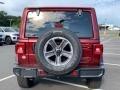 Jeep Wrangler Unlimited Sahara 4x4 Snazzberry Pearl photo #7