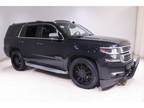 Black 2015 Chevrolet Tahoe LTZ 4WD