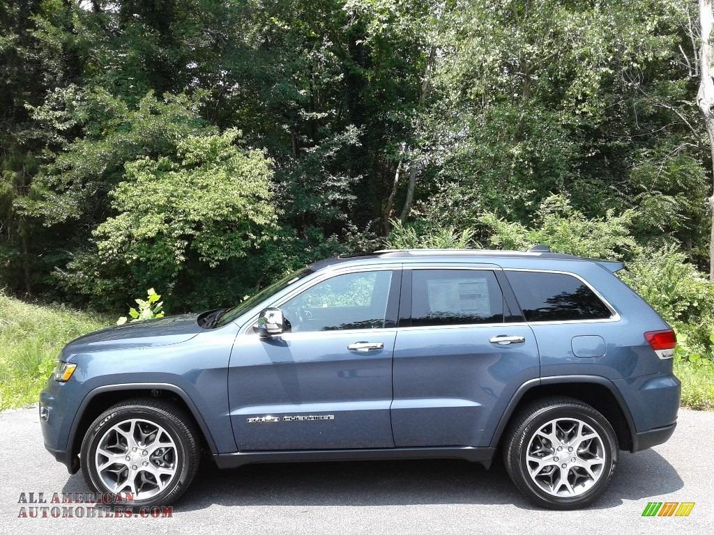 2021 Grand Cherokee Limited 4x4 - Slate Blue Pearl / Black photo #1