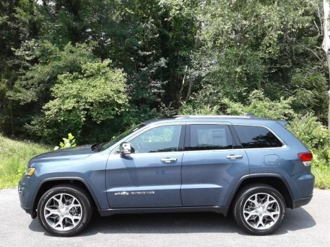 Slate Blue Pearl 2021 Jeep Grand Cherokee Limited 4x4