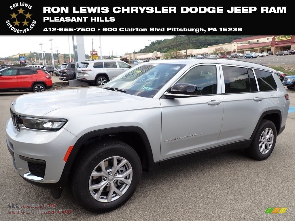 2021 Grand Cherokee L Limited 4x4 - Silver Zynith / Black photo #1