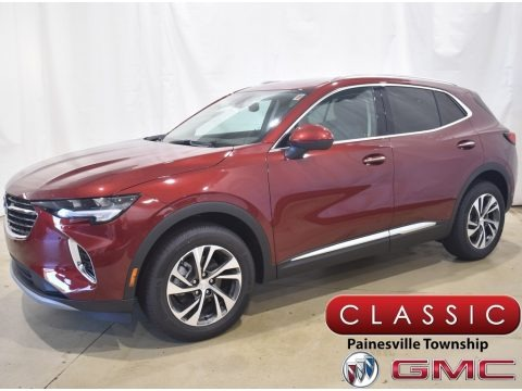 Cinnabar Metallic 2021 Buick Envision Essence