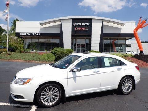 Bright White 2013 Chrysler 200 Limited Sedan