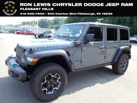 Sting-Gray 2021 Jeep Wrangler Unlimited Rubicon 4xe Hybrid