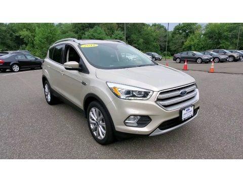 White Gold 2018 Ford Escape Titanium 4WD