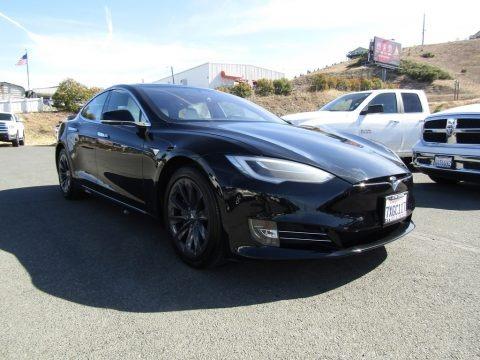 Obsidian Black Metallic 2018 Tesla Model S 100D
