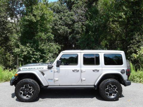 Billet Silver Metallic 2021 Jeep Wrangler Unlimited Rubicon 4xe Hybrid