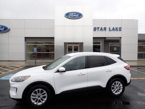 Oxford White 2020 Ford Escape SE