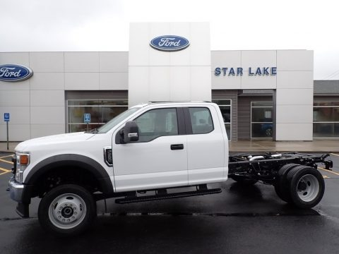 Oxford White 2022 Ford F550 Super Duty XL Regular Cab 4x4 Chassis