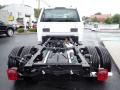 Ford F550 Super Duty XL Regular Cab 4x4 Chassis Oxford White photo #4