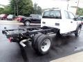 Ford F550 Super Duty XL Regular Cab 4x4 Chassis Oxford White photo #5