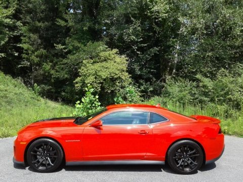Red Hot 2015 Chevrolet Camaro ZL1 Coupe