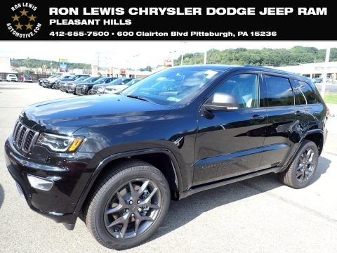 Diamond Black Crystal Pearl 2021 Jeep Grand Cherokee Limited 4x4