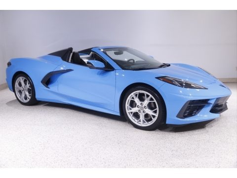 Rapid Blue 2020 Chevrolet Corvette Stingray Convertible