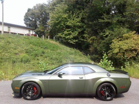 F8 Green 2021 Dodge Challenger SRT Hellcat Redeye Widebody