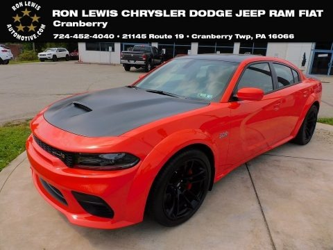 Go Mango 2021 Dodge Charger Scat Pack Widebody