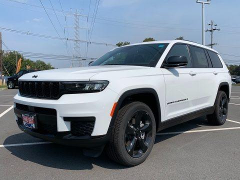 Bright White 2021 Jeep Grand Cherokee L Laredo 4x4