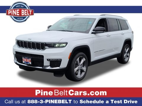Bright White 2021 Jeep Grand Cherokee L Limited 4x4