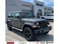 Jeep Wrangler Unlimited Sahara Altitude 4x4 Granite Crystal Metallic photo #1
