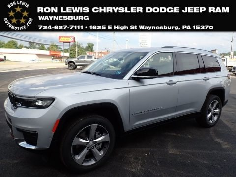 Silver Zynith 2021 Jeep Grand Cherokee L Limited 4x4