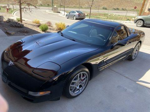 Black 2003 Chevrolet Corvette Z06