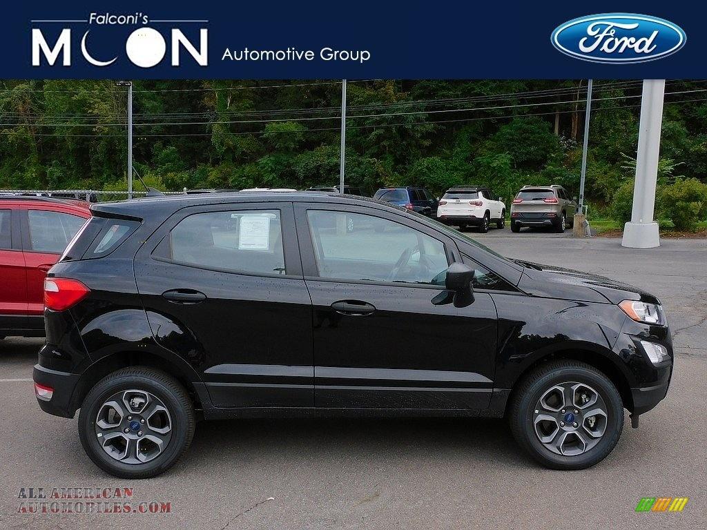 2021 EcoSport S 4WD - Shadow Black / Medium Stone photo #1