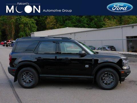 Shadow Black 2021 Ford Bronco Sport Big Bend 4x4