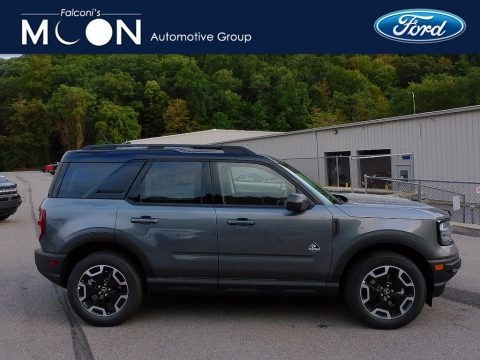 Carbonized Gray Metallic 2021 Ford Bronco Sport Outer Banks 4x4