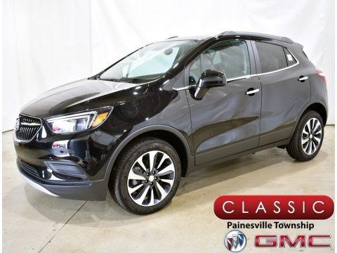 Ebony Twilight Metallic 2021 Buick Encore Preferred AWD