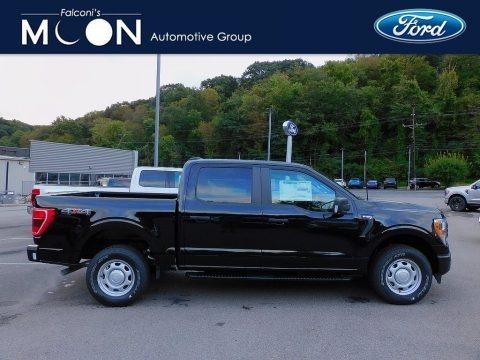 Agate Black 2021 Ford F150 XL SuperCrew 4x4