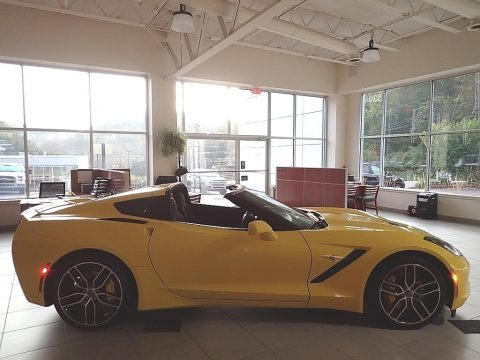 Corvette Racing Yellow Tintcoat 2016 Chevrolet Corvette Stingray Coupe