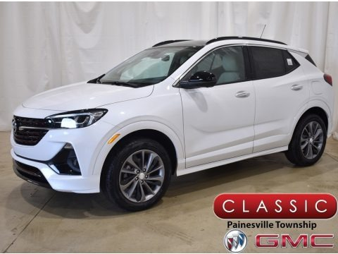 White Frost Tricoat 2022 Buick Encore GX Essence AWD